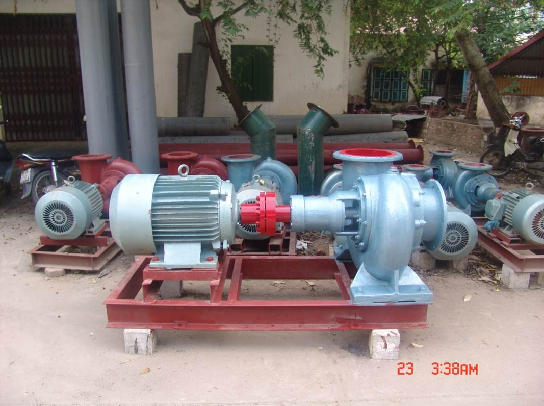 The Deep suction, suction far - Centrifugal Pumps